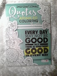 Inspirational Quotes Advanced Coloring Book Brampton