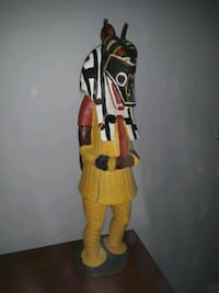 African hand made atatue