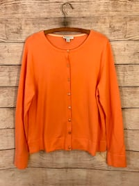 Isaac Mizrahl Orange Sweater Toms River, 08753