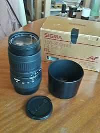 Sigma objektiv 100-300mm Hisings Backa, 422 47