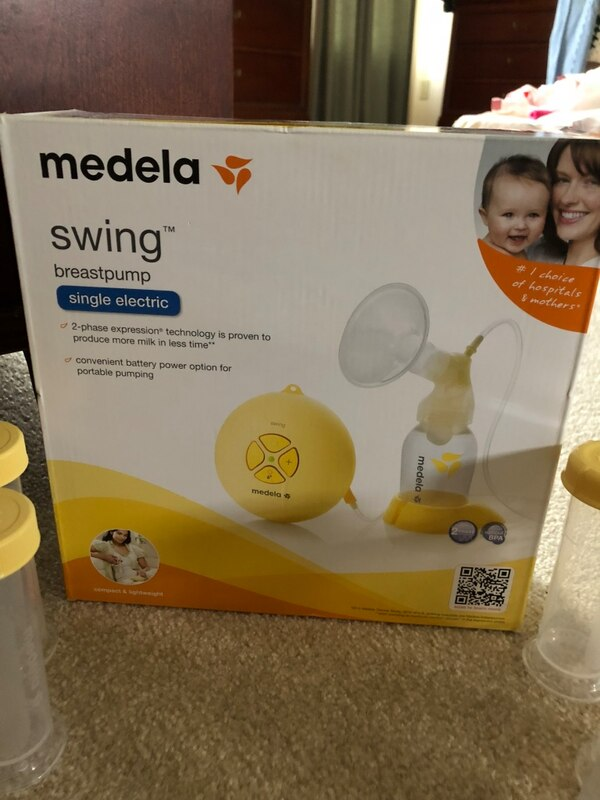 Used Medela Swing Breast Pump Box For Sale In Bowling Green Letgo