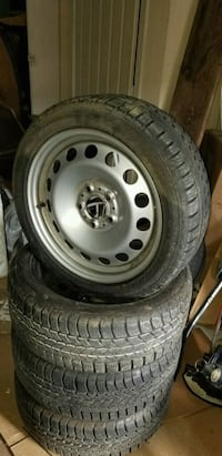 "brand new perfect tread snow tires17"" 205/50"