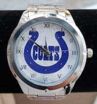 Stainless steel  Indiannapolis Colts watch  Baltimore