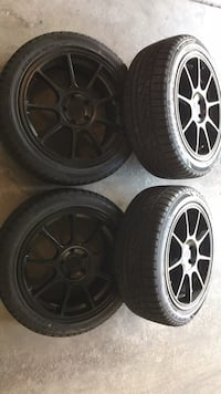 For racing Montag rims And brand new Sumitomo tires to 2354518 Aurora, 80015