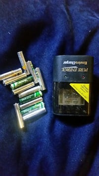 X12 batteries and charger