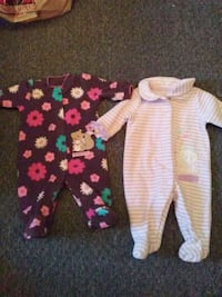 baby onsies Newborn set of 2  Visalia, 93230