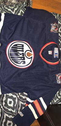 Official oilers jersey
