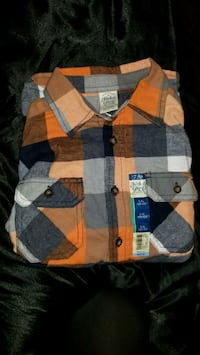 Nwt Boy's Flannel shirt. North Kingstown, 02852