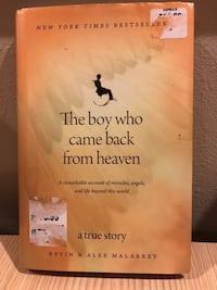 The Boy who Came Back from Heaven . Hardcover Kirkland