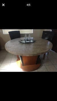 Real marble dinning set , only i 2 chairs Lemon Grove, 91945