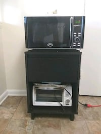 Microwave, toaster oven, stand  District Heights, 20747