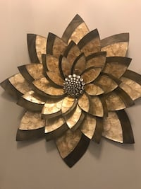 """Large wall decor with crystal centre. Bowering product. 2.7"""" Oakville, L6L 0M8"""