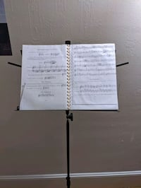 On-Stage Compact Folding Sheet Music Stand