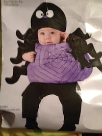 Baby'sHalloween baby spider costume fits up to 24 months Albany, 42602