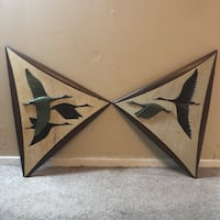 Burwood Products mid century modern wall plaques  Holbrook, 11741