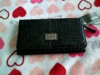 Black leather wallet never used Frederick, 21703
