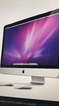 "27"" imac with wireless keyboard mouse. baterry charge. hd needs replaces Reston, 20191"