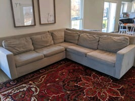 Sectional couch, Arhaus Henry Sectional