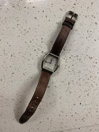 Authentic Brown Leather Female Fossil Watch Scottsdale, 85255