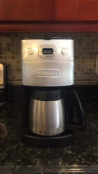 Gray and black cuisinart coffeemaker Potomac, 20854