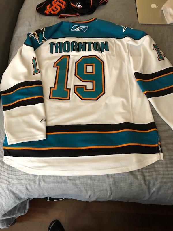 Used White sharks jersey for sale in San Jose - letgo 41d22f170