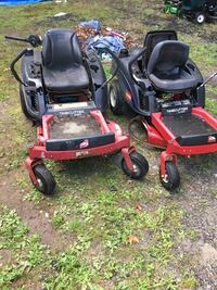 Two time-cutter zero turn and a part one both runs and works READ READ ASKING $800 for all three  Jewett City, 06351