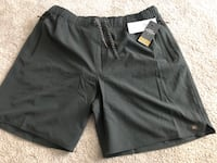 "BRAND NEW genuine Quiksilver Waterman Lockdown 18"" Volleys shorts with tags men's size XL msrp $65 San Jose, 95111"