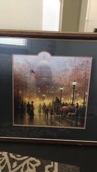 Painting of US Capitol.  $150 OBO Washington, 20020