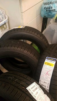 Brand new tires never touch the ground. Hampton, 23661