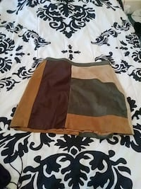 NWT abercrombie and fitch leather skirt  Fort Smith, 72901