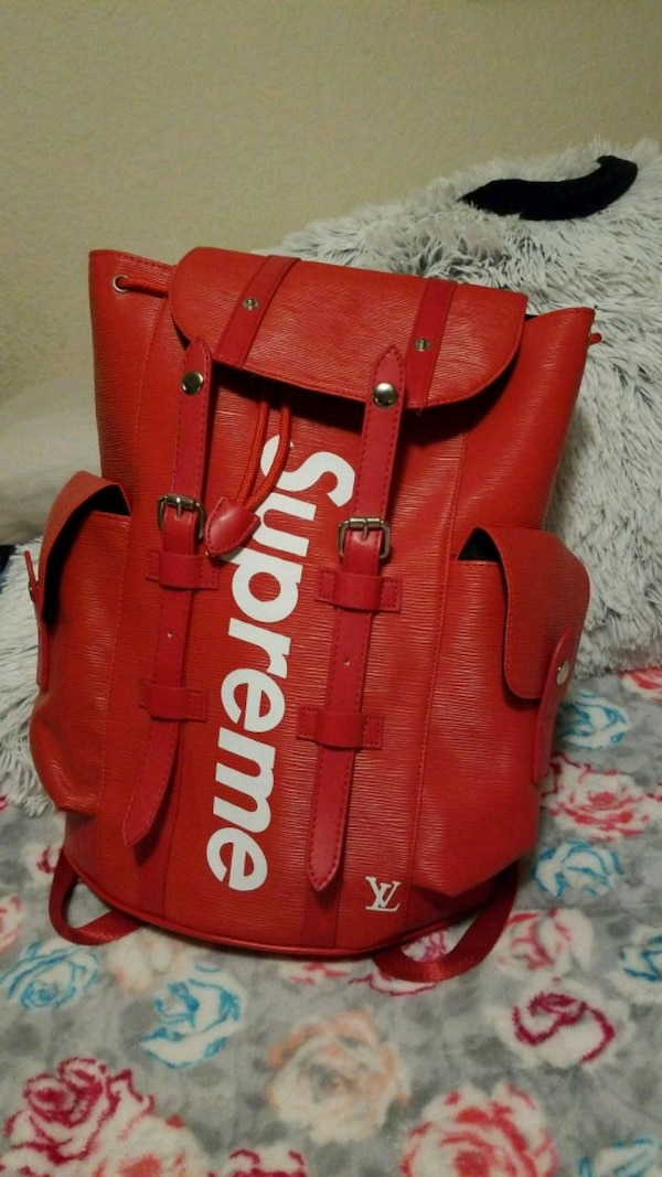 f2bf5ff569d0 Used Louis Vuitton x Supreme Christopher Backpack for sale in San Jose -  letgo