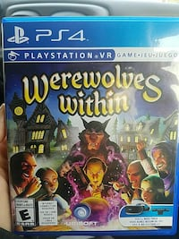 Werewolves Within PS4 game case