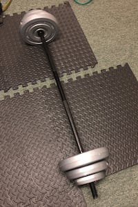 Small Barbell & Weights Set