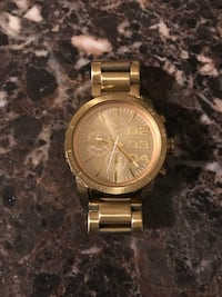Gold Diesel Watch Los Angeles, 90025