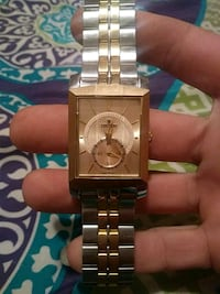 silver and gold analog watch Columbus, 43223