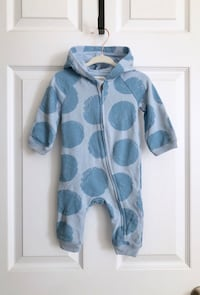 Gymboree Baby hooded one piece size 6-9 months Mississauga, L5M 0H2