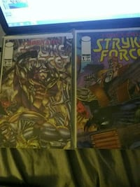 Code name:Stryker force comic Toronto, M6K 3G7