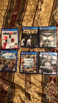 assorted Sony PS4 game cases Schenectady, 12306