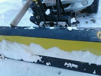 yellow and black plow blade Fall River, 02721