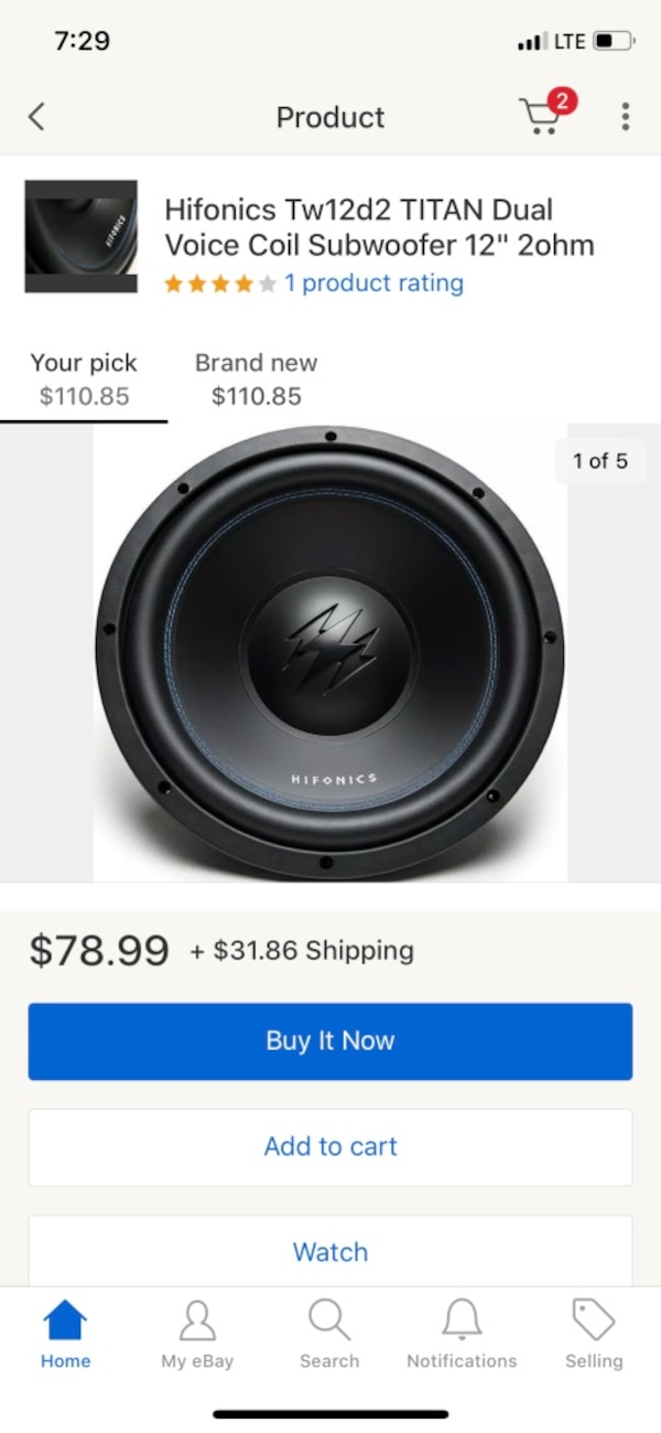 Used and new car subwoofer in Colorado Springs - letgo