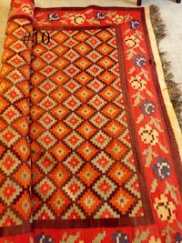 Handwoven Antique Kilim Carpet Abilene, 79606