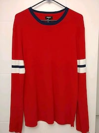 Forever21 Mens Red Sweater Size XL(fits L as well) Burnaby, V5E 1A1