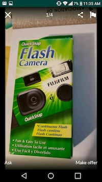 Fujifilm disposable camera 1 for $10. 3 for $20 Los Angeles, 90039