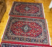 Pair of Handmade Persian Rugs (3.5 x 5 feet) Richmond Hill, L4C 0B8