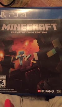 Minecraft for ps4  Edmonton, T5R 2G9