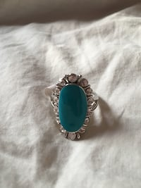 Opaque Teal Green Gemstone Ring Woodbridge, 22193