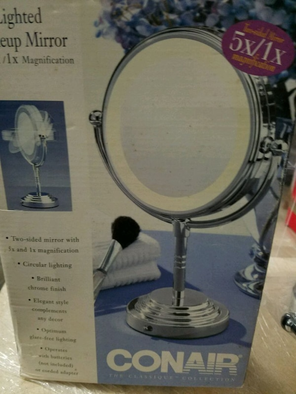 Used Conair Double Sided Makeup Mirror For Sale In Delray