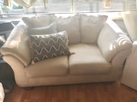 Gray fabric 2-seat sofa Barrie, L4N