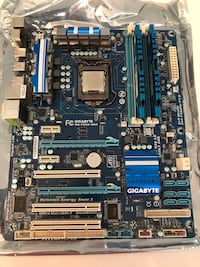 Intel i5 2.66ghz CPU with Gigabyte Motherboard and 16gb RAm 3725 km
