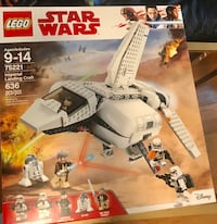 Star Wars lego imperial delivery set number 75221 brand new lego set not opened sealed box yours for 55.00 retail on this lego is 60.00 plus tax do get the same brand new lego set here for a few bucks less Medford, 02155